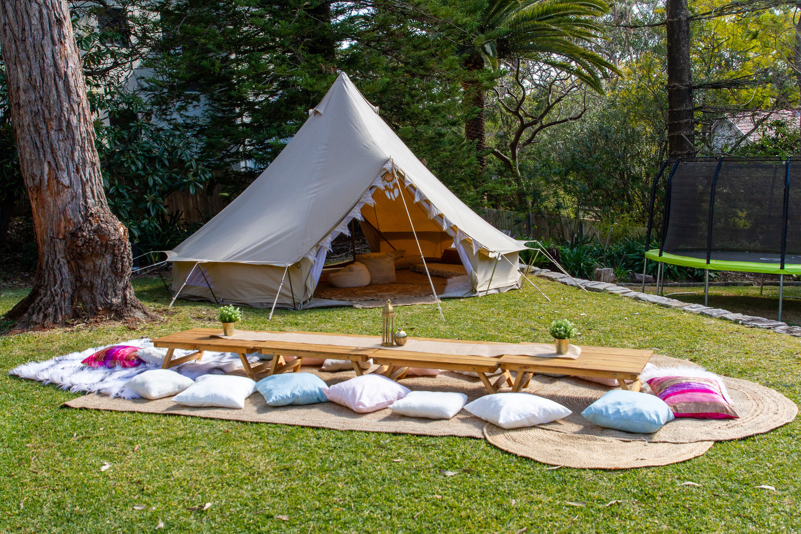 Picnic with a Tent Day Hire