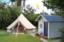 Ultimate backyard getaway