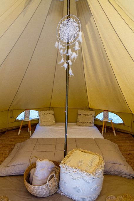 Romantic Campout Queen Bed