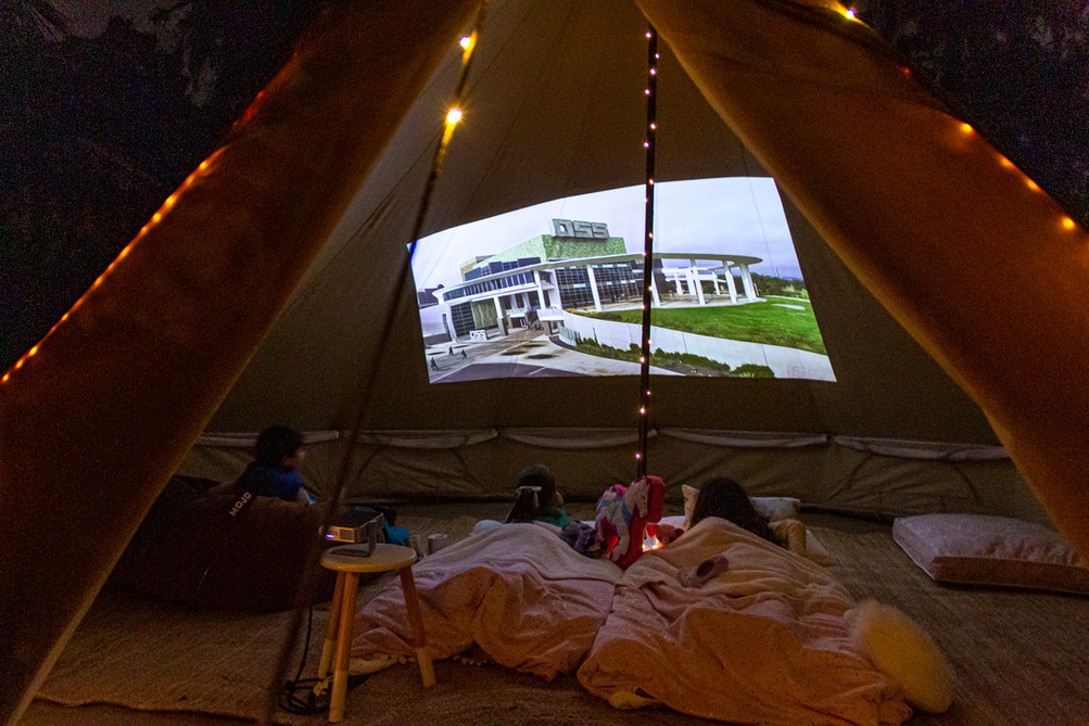 Your Own Private Cinema!