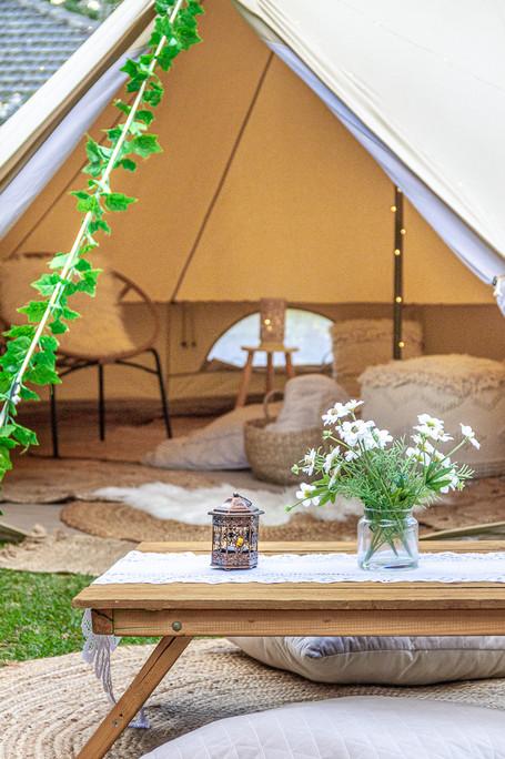 Romantic Campout and picnic