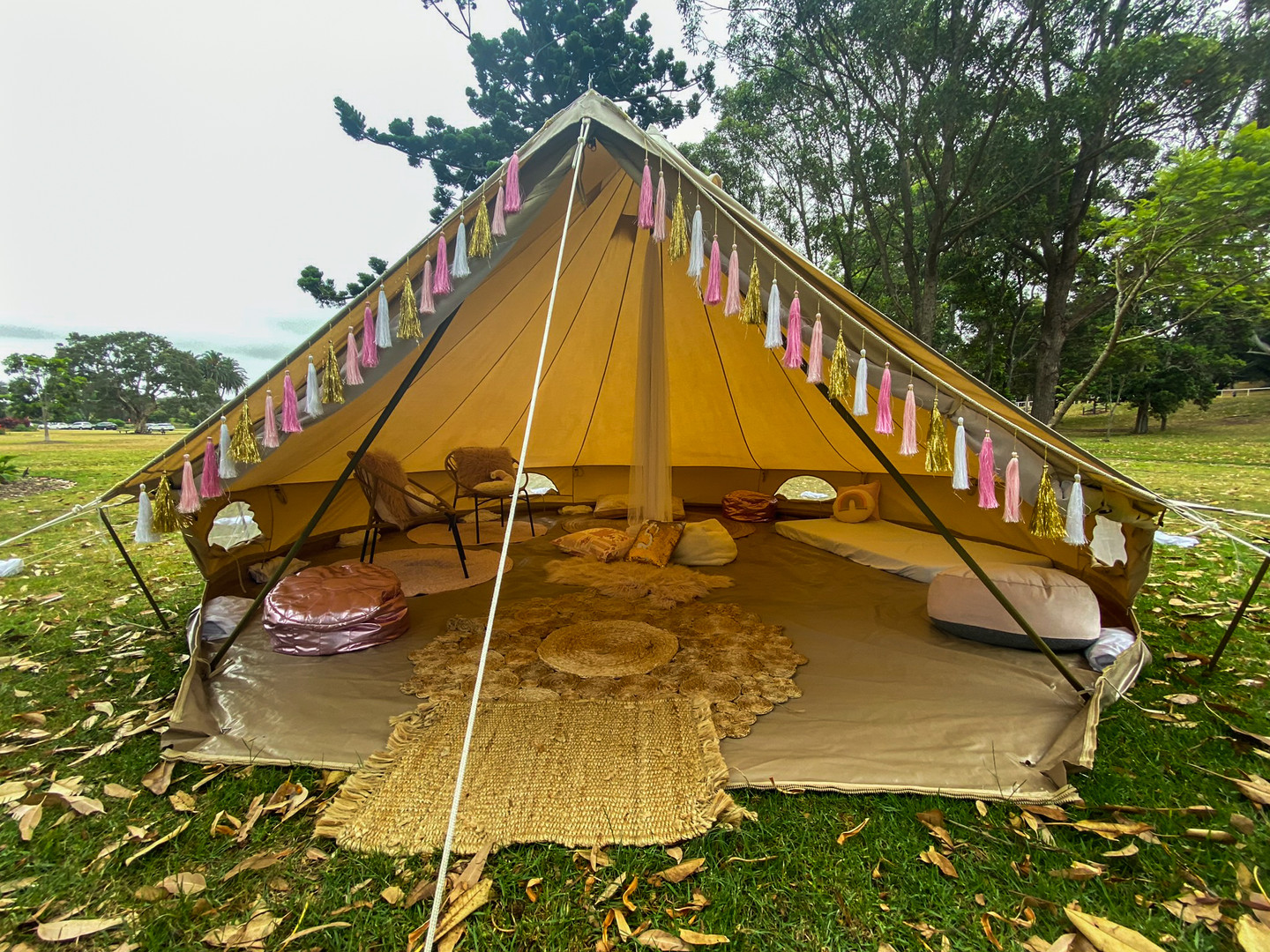 Wide Mouth 5m tent