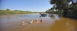 Bush Lunch in the Ruaha River