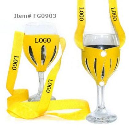 WineYoke™ Hands Free Glass Holder