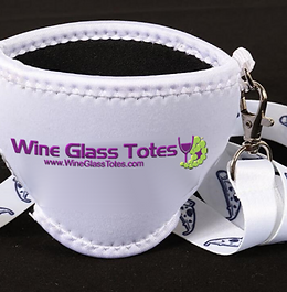 Standard Neoprene Wine Glass holder Printed #WGTNS