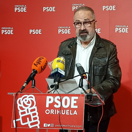 El PSOE asegura que al gobierno local no le importan los Barrios de Orihuela