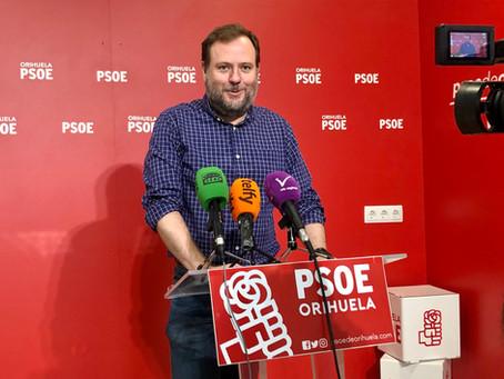 El PSOE denuncia la pérdida del servicio de cafetería en la pedanía de Desamparados