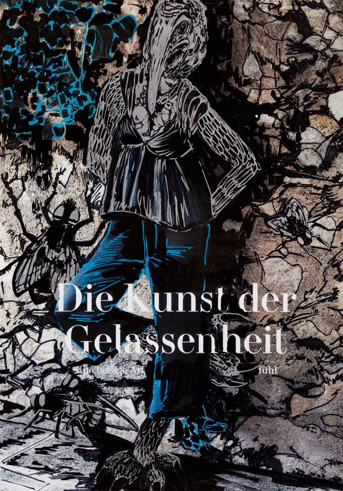 Die Kunst der Gelassenheit, 70 ×100, 2020