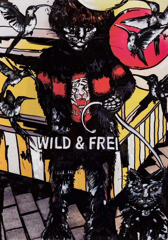 WILD & FREI, 70 ×100, 2019