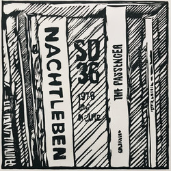 Nightlife, 2021, 25x31 cm, edition of 10 + 2 AP - Linoprint