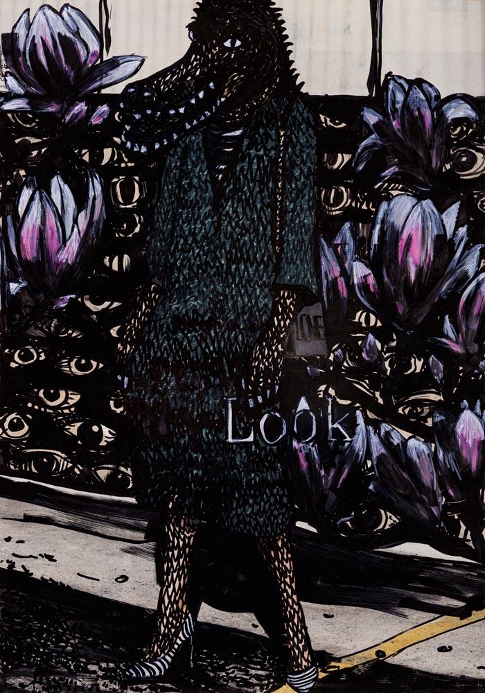 Look, 70 ×100, 20185