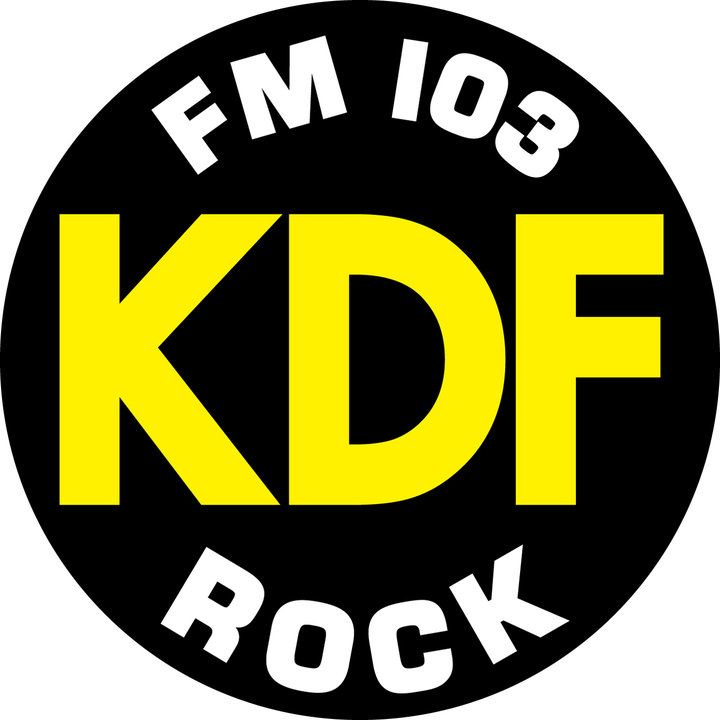 KDF ROCK sticker