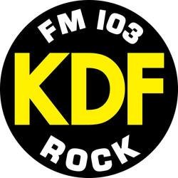 KDF ROCK sticker
