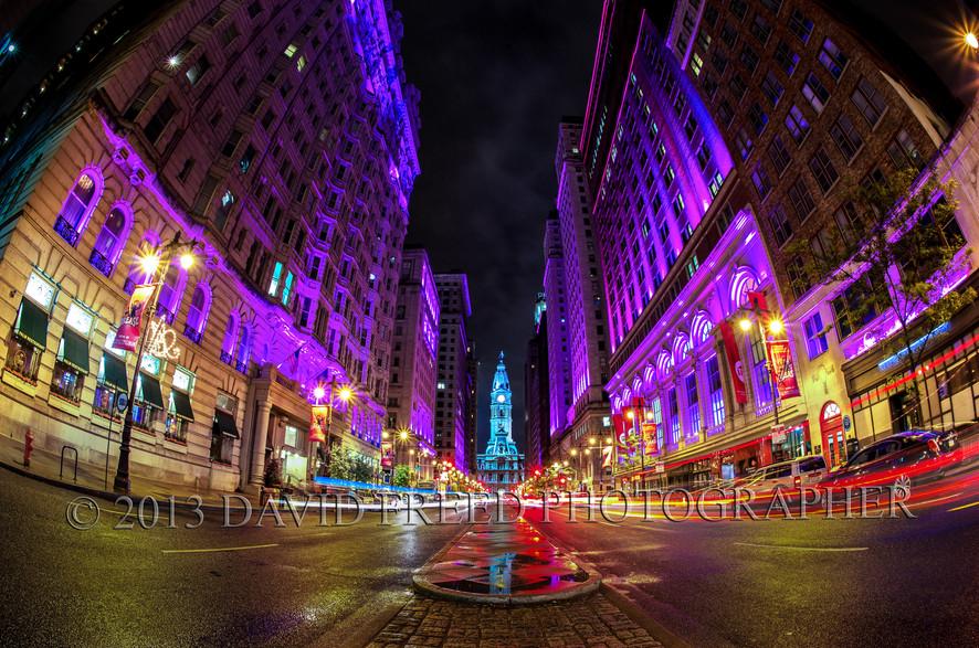 Avenue of the Arts, Broad Street, Philadelphia, PA, USA