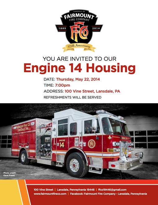 Engine 14 Housing