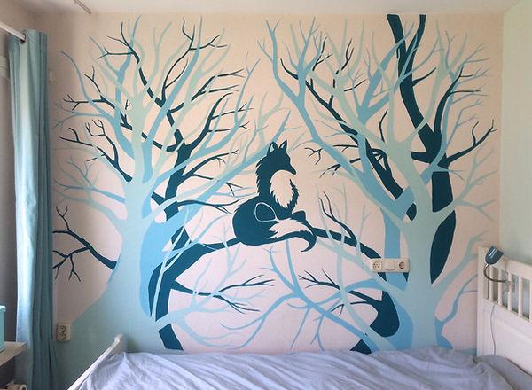 Muurschildering-babykamer-unieke-eigen-ontwerp