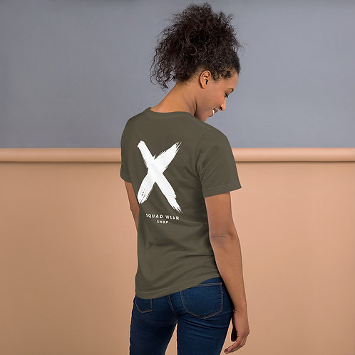 Not A Hugger - Short-Sleeve Unisex T-Shirt