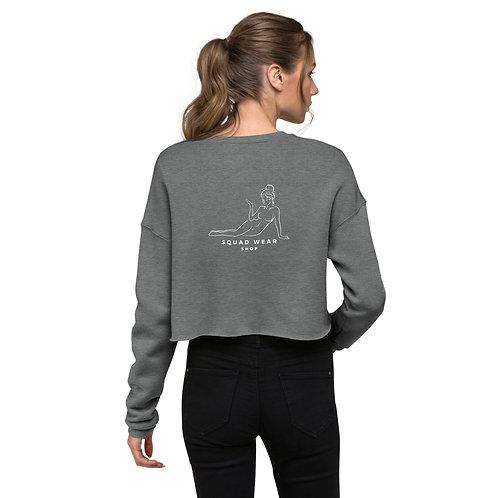 The f*ck happened last night? - Crop Sweatshirt