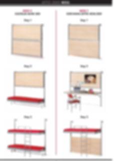 мебель-трансформер , откидная кровать