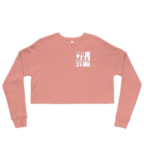 Crop Sweatshirt - Nobody Cares