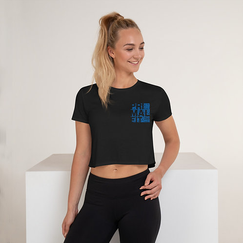 Crop Tee - PFT (Blue logo)