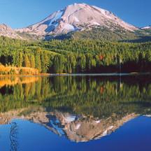 Lassen Park - vista Mount Shasta