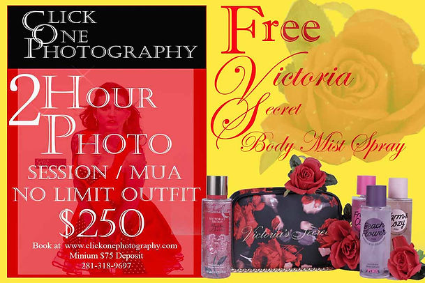 Full Photo Session With MUA