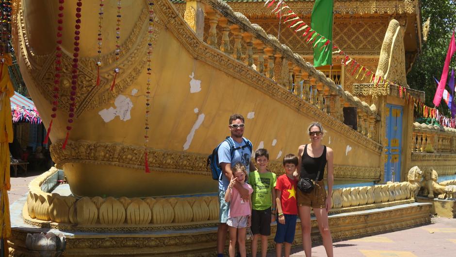 Découverte du Cambodge : 3 jours à Phnom Penh avec des enfants.