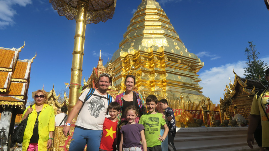Chiang Mai avec des enfants, petite bulle d'oxygène et de rencontre dans le nord de la Thaïlande.