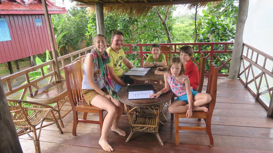 Kep dans le Sud du Cambodge avec des enfants : 2 belles journées au bord de la mer.