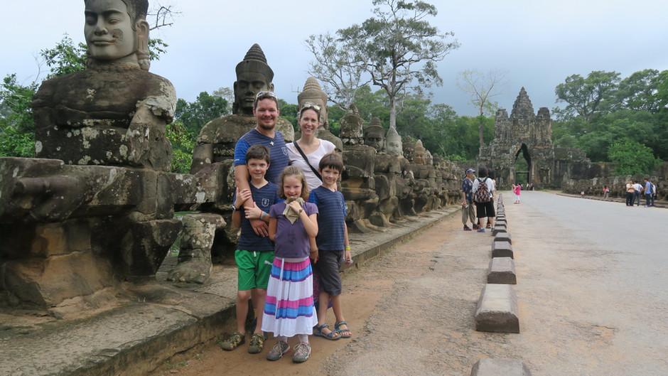 Qui dit Cambodge, dit ANGKOR ! 10j à Siem Reap dont 3 à être éblouis par les merveilles d'Angkor !