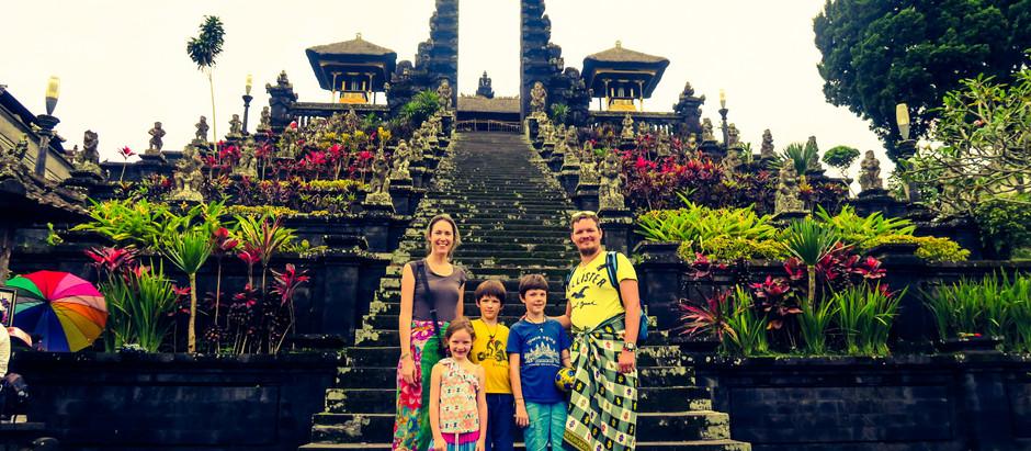 Visiter Sidemen, petit havre de paix dans Bali, lieu de notre nouvel échange de maison.
