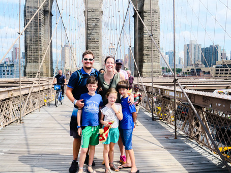 NY avec des enfants : Chelsea Pier, Skyline, Manhattan, Brooklyn ainsi que Prospect Park.