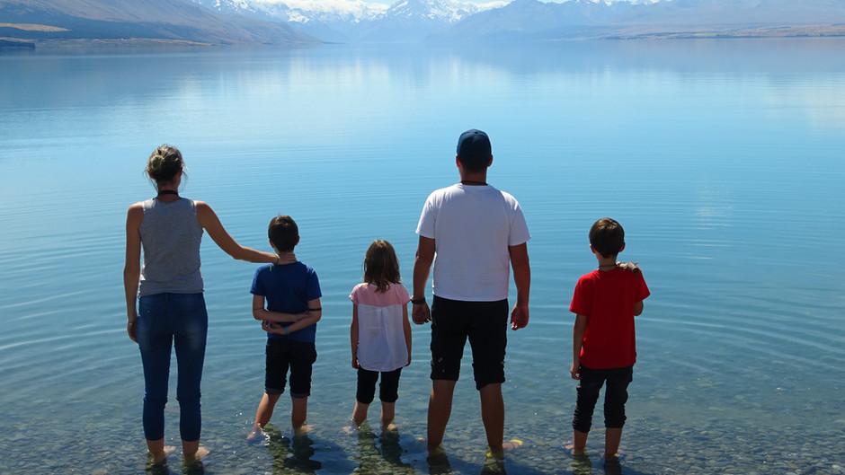 Notre première journée magique lors de notre road trip de 5 jours dans le sud de la NZ !