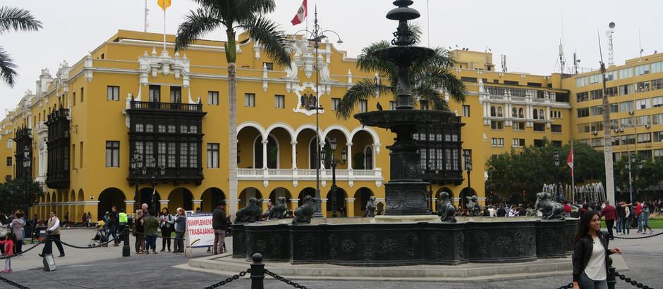 Bilan en famille de ce mois au Pérou.