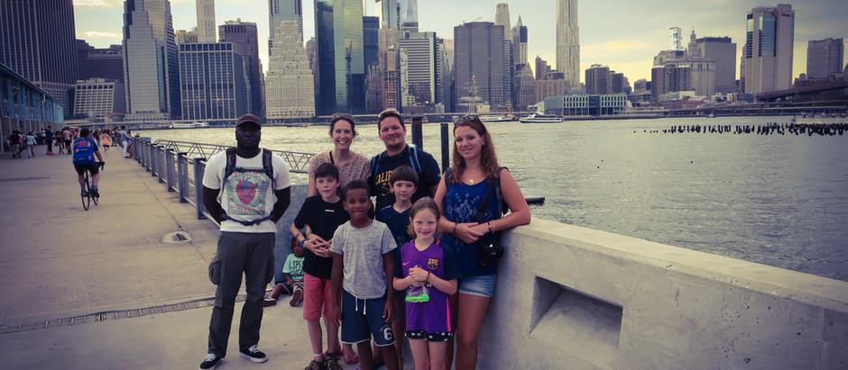 NY en famille : c'est aussi notre rencontre tant attendue avec les Globe Trotter Fan !