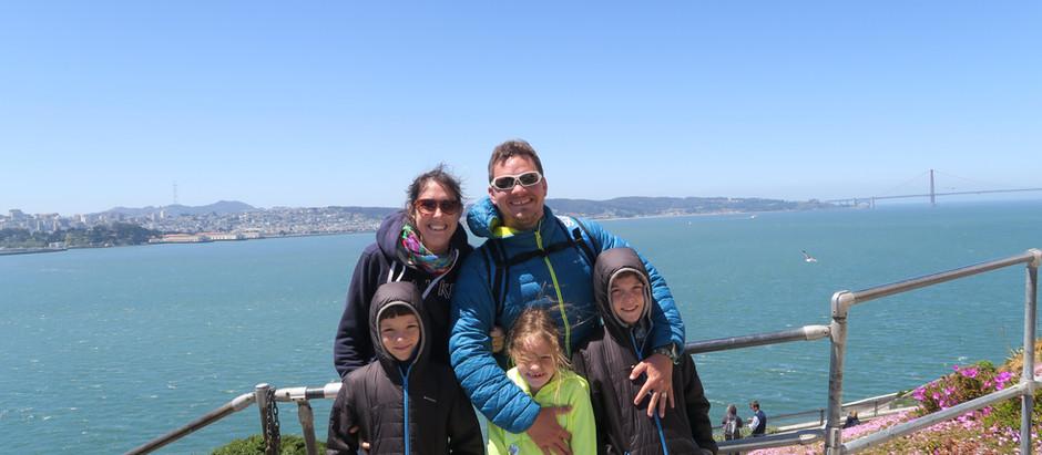 Budget pour une famille de nos 22 jours à San Francisco et en échange de maison.
