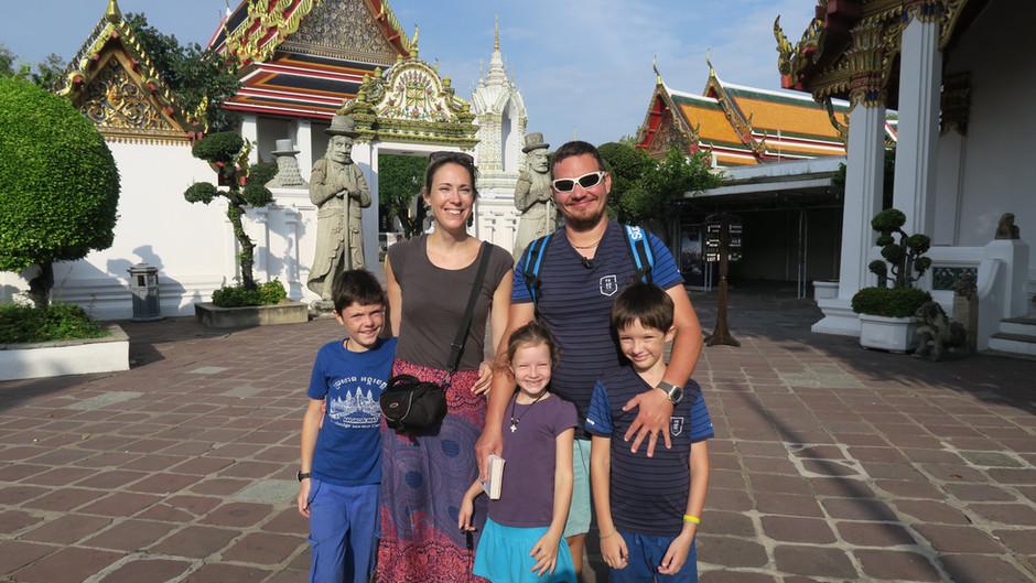 Que faire à Bangkok avec des enfants ? Suivez nous..