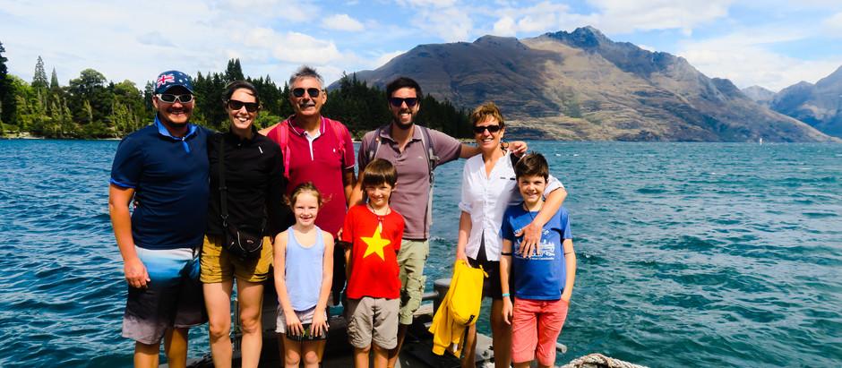 Notre deuxième et troisième journée de Road trip dans l'île du sud, au TOP.