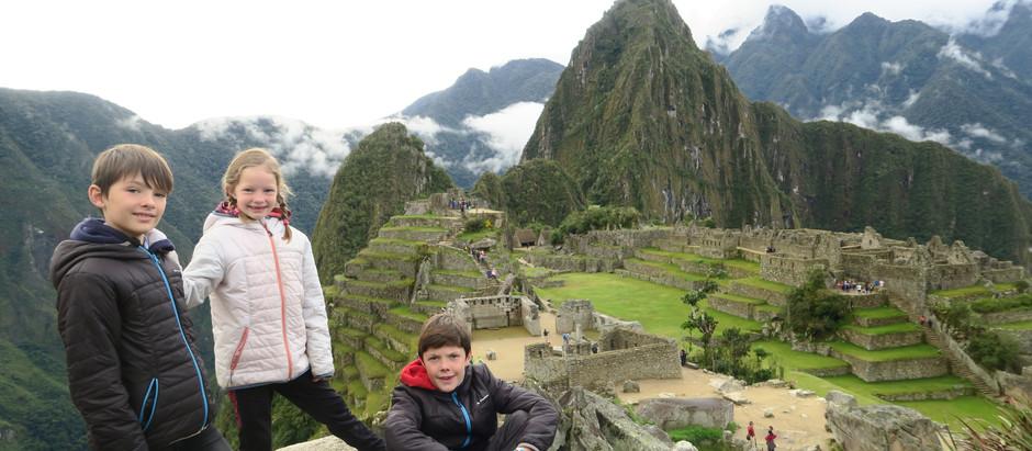 Le Machu Picchu , en famille.  Un rêve devenu réalité.