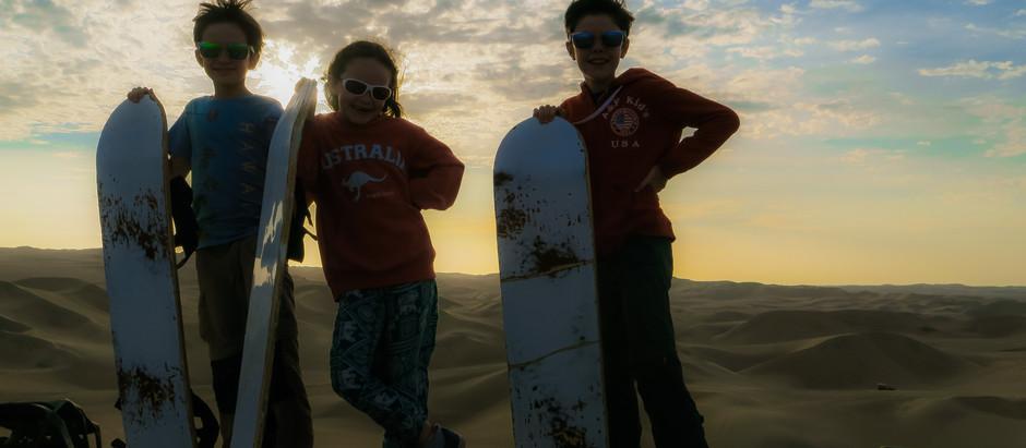 Que faire à Huacachina en famille ?