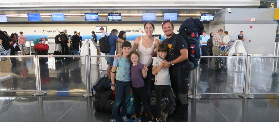 NY en famille : nos dernières aventures en terre américaine.La fin de notre TDM et d'un an de voyage