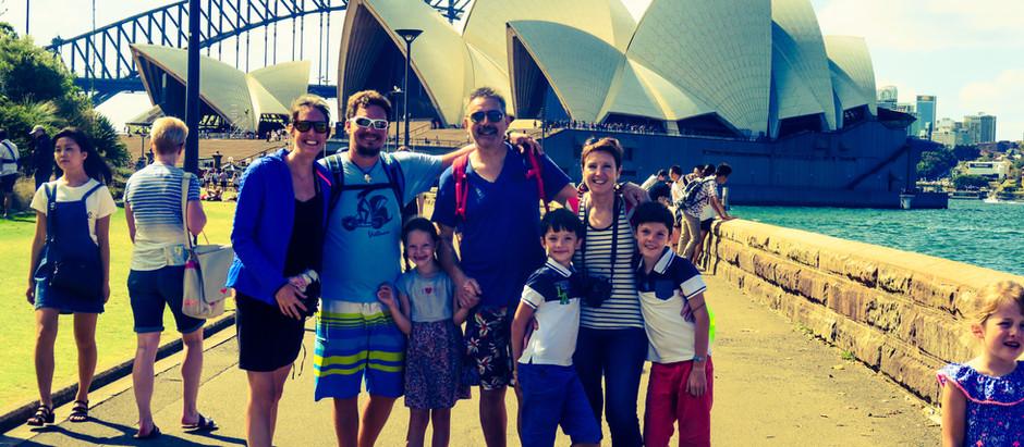 Sydney en famille, on en rêve !