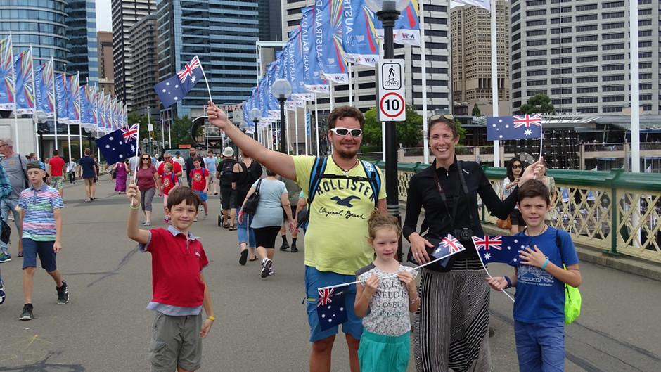 Découverte de Sydney en famille.