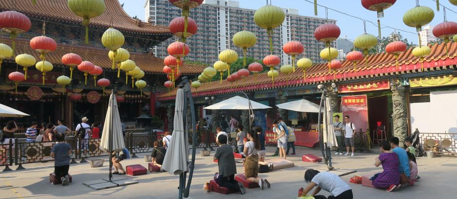 Jour 8 à HK : Temples et quartier Yau Ma Tei