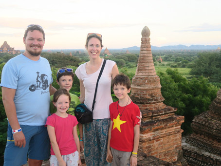 Bagan en famille, notre magnifique coup de cœur.