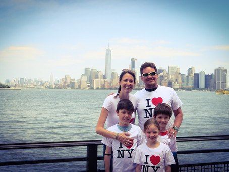NY en famille à la découverte du symbole des EU : la statue de la liberté, d'Ellis Island et du MET.