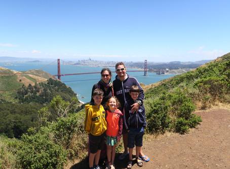 Découverte de San Francisco et plus particulièrement du Golden Gate Bridge et d'Alcatraz !!