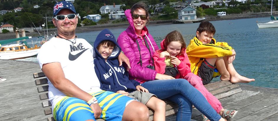 Découverte de l'île du Sud : Christchurch mais aussi de la ville la plus française de NZ : Akaroa !