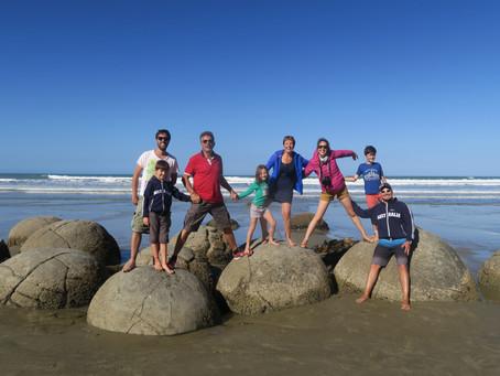 Nos 2 derniers jours de road trip à la découverte de Dunedin, Moeraki, Oamaru et Timaru.
